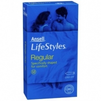 Ansell LifeStyles Regular Condoms