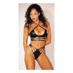 Joyce Jones Desire Strappy Bra & Panty Set